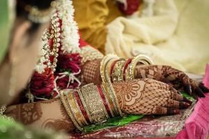 Henna Indien Hochzeit